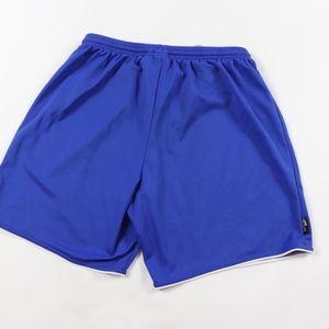 adidas Shorts - Vintage Adidas Spell Out Running Soccer Shorts L
